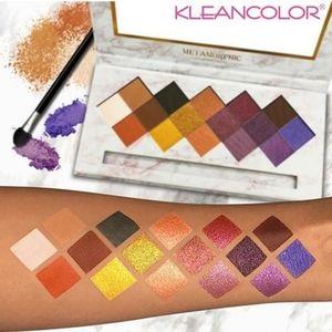 kleancolor Metamorphic Eyeshadow Palette